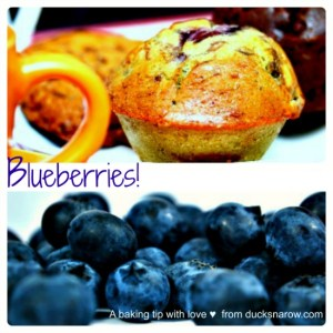 Baking tip for making the best blueberry muffins