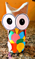 O is for Owl toilet paper roll craft #preschool #kids