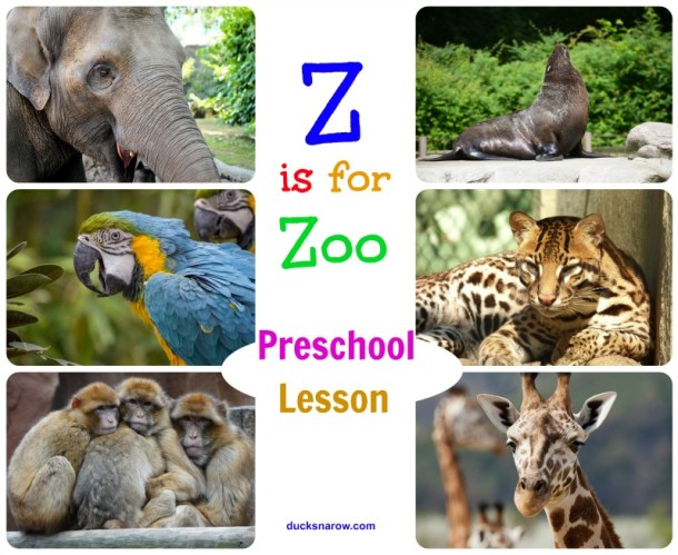 Z is for Zoo #preschool #craft