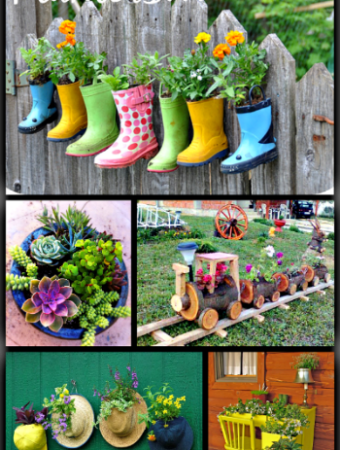12 amazing planters for flowers #gardening