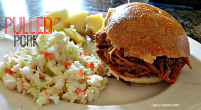 Easy pulled pork with barbecue sauce #recipes