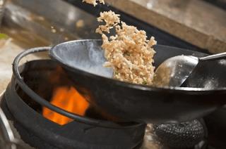wok, stir fry, Chinese food