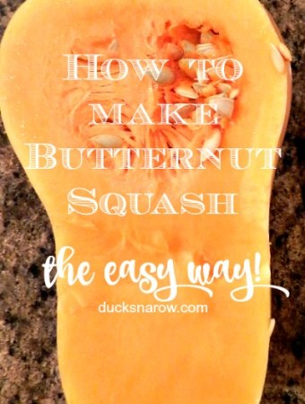 How to make butternut squash the easy way #tips