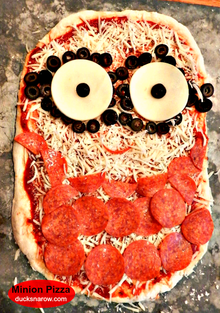 minions movie pizza