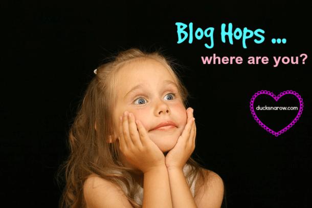 blog hops, link parties, linkup