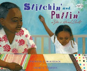 Stitchin and Pullin storybook about quilting #ad