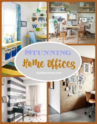 20 stunning home offices #homedecor
