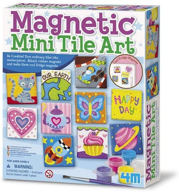 Magnetic mini tile art for kids #ad