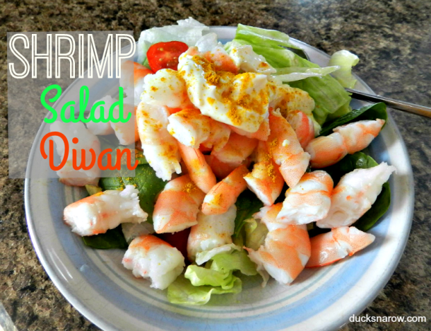 Shrimp salad divan recipe #lowcarb #keto