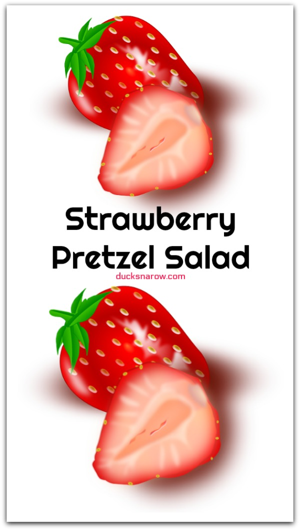 Recipe for strawberry pretzel salad #recipes