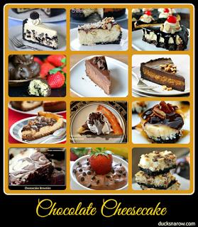 pie, cheesecake, chocolate desserts