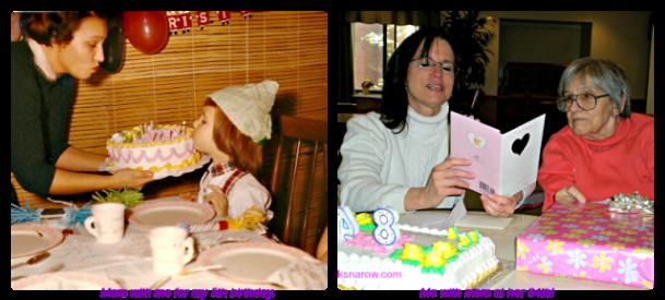 birthdays, motherhood, family love