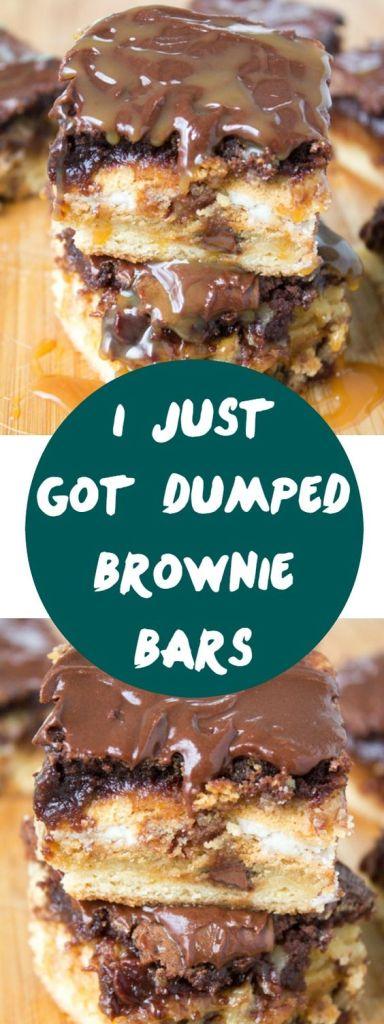 brownie dessert recipes, dump cake