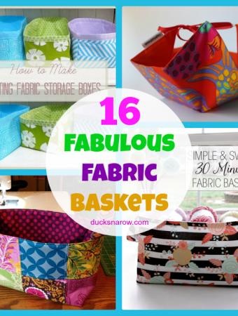 16 fabulous fabric baskets