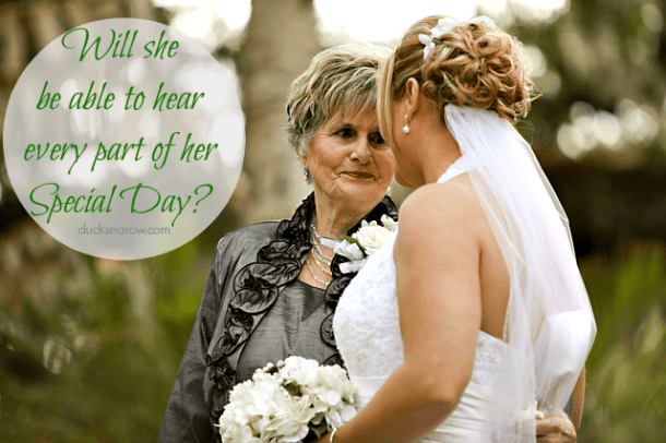 hearing, hearing loss, hearing aids, weddings, FREE hearing test