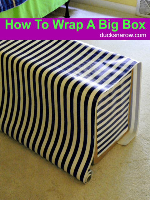 Gift wrapping can involve creativity and imagination. Instead of simply wrapping a gift, it can be nice to take it an extra step and make the gift look special. One way to do this is to place the gift in a box with a lid and then wrap the bottom and lid of the box separately.