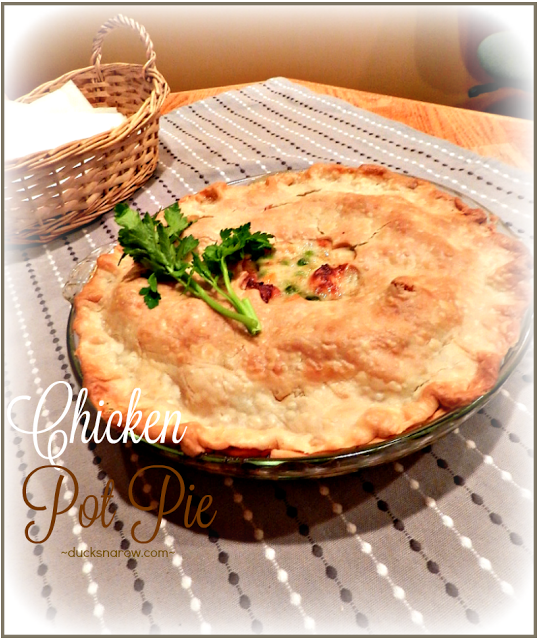 Make an easy on the tummy classic chicken pot pie ducks n a row members forumfinder Choice Image