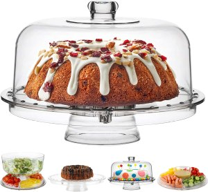 Homeries Cake stand with dome cover #ad #pastries