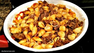 Goulash one-skillet meal for a quick easy dinner! #recipes