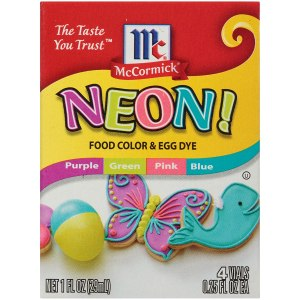 Neon assortment of colors food coloring #ad