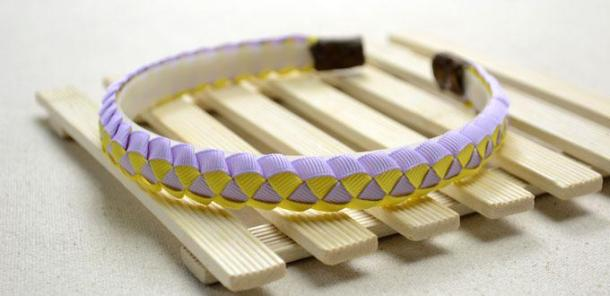 Ribbon headbands for little girls #crafts
