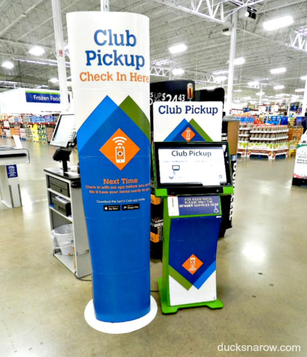Club Pickup at Sam's Club is such a help to family caregivers #ad