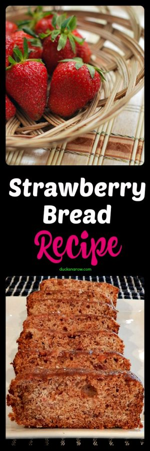 Easy recipe for strawberry sweet bread