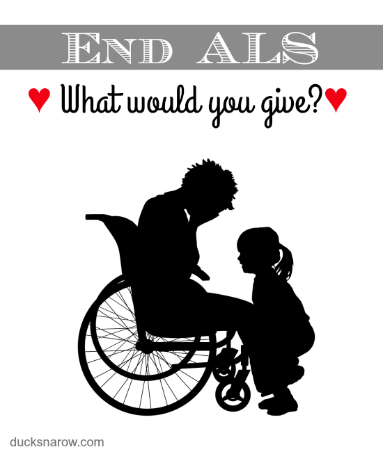 Help end ALS permanently