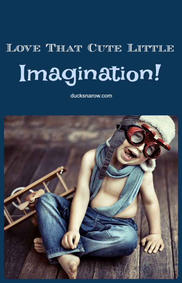 In a child's life imaginative play takes them to the heights of possibilites! #Affiliate