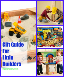 Building toys, props and costumes for kids who love to build and fix things