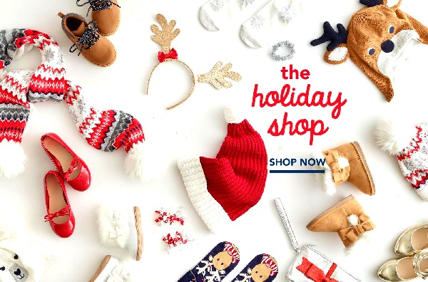 Kids holiday apparel and acessories at Gymboree's Holiday Shop