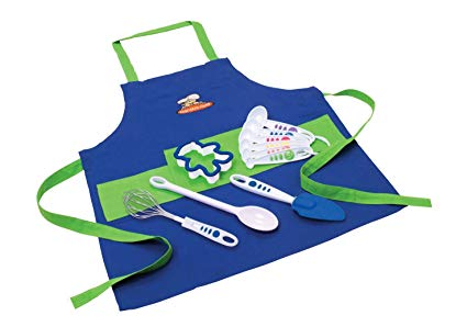 Apron set for kids #cooking #kidsactivities #ad