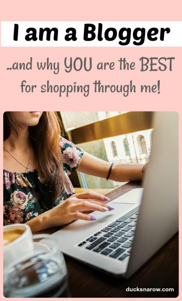 Why you are the BEST when you buy something through a blogger's affiliate links
