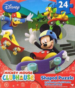 Mickey Mouse 24 piece puzzles for little children