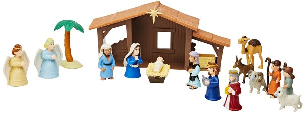 Play Nativity Scene for kids #Christmas #giftideas