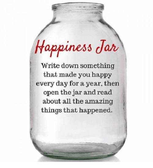 Keep a blessing a day in a jar! In 365 read them!