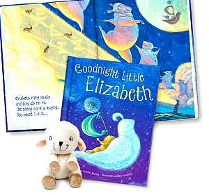 Goodnight Little Me storybook set for children - personalize it! #gifts