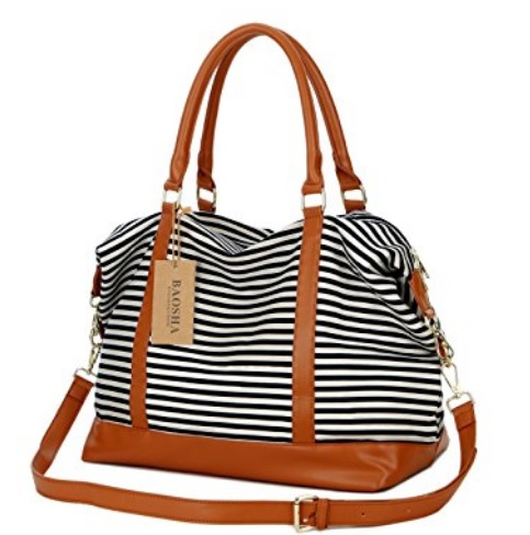 Striped women's tote bag #ad