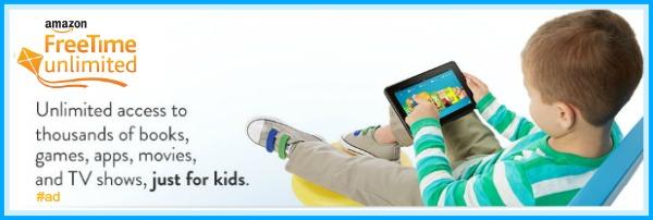 Amazon FreeTime Unlimited for Kids - a parent's best friend! #ad