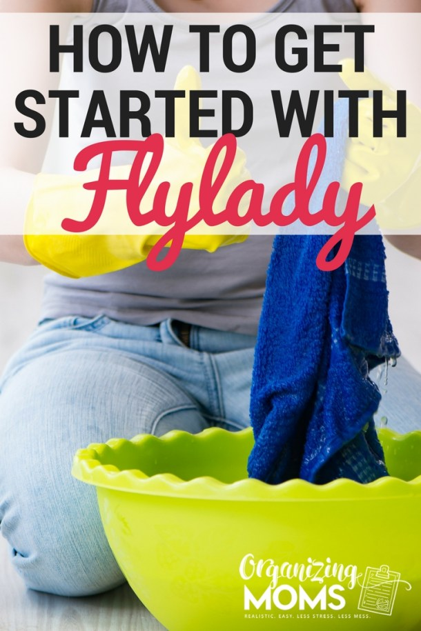 Getting started with Flylady