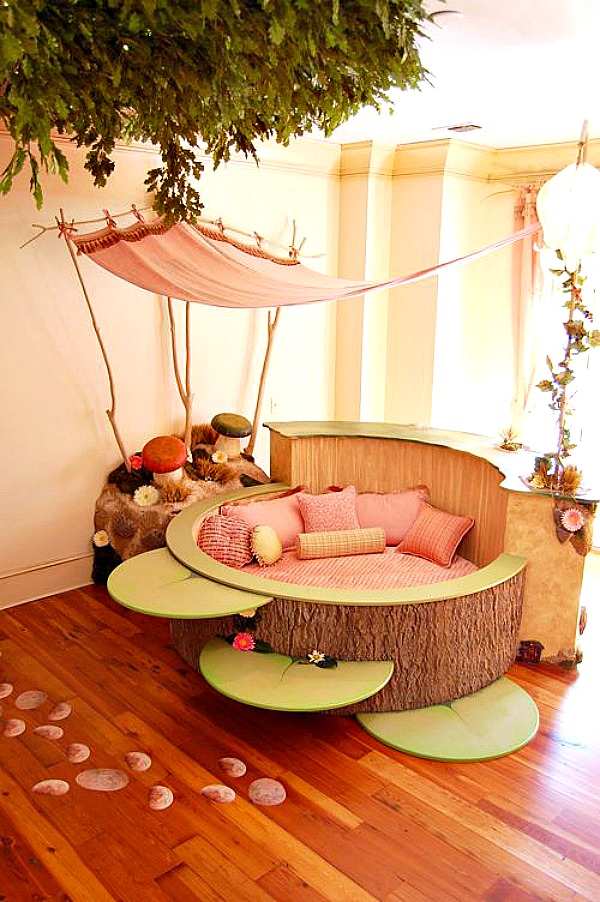Amazing reading space for kids