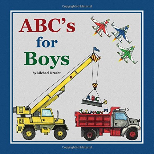ABC's For Boys book your little guys will love! #ad