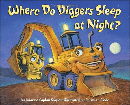 Where do diggers sleep at night? Story book for little boys who love trucks and big moving vehicles #ad