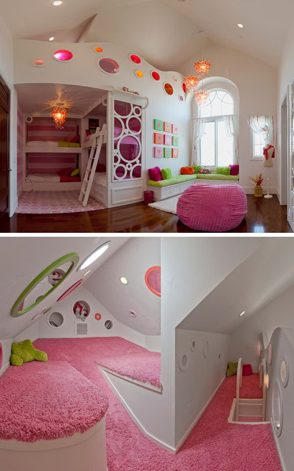 Your kids will love having a secret reading space #kidsrooms