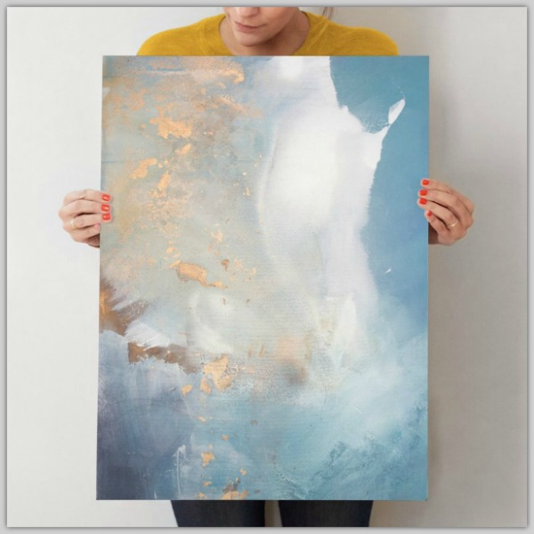 Canvas art from Minted #ad