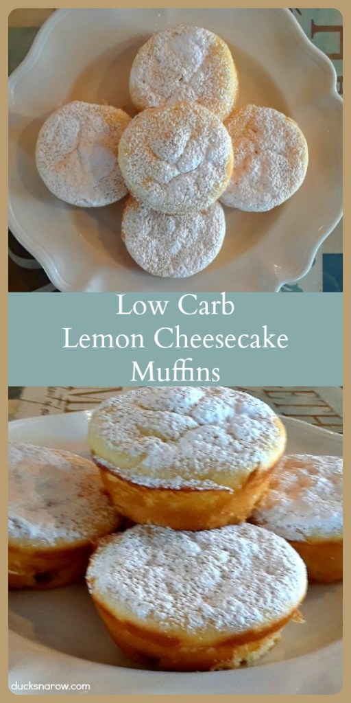 Low carb cheesecake muffins #lowcarb