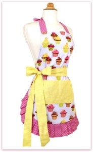 Pretty aprons for moms who just LOVE to cook! #ad