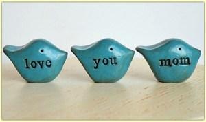 "Blue Birds say ""Love You Mom"" #ad"