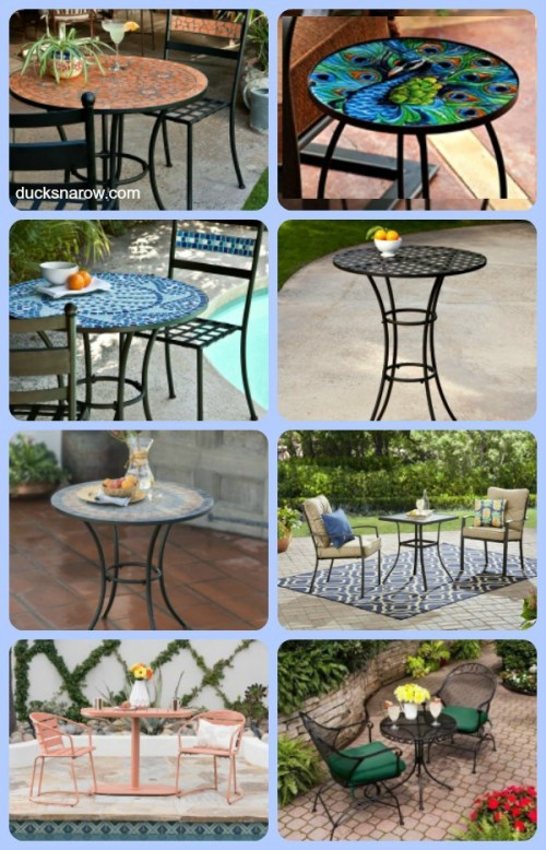 Collection of beautiful bistro sets #affiliate