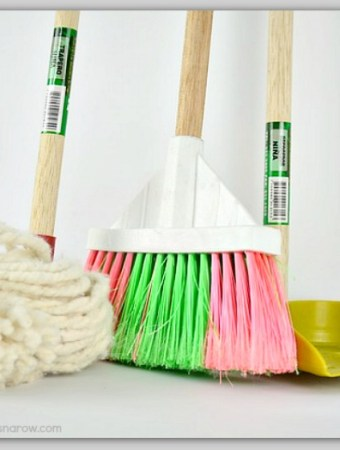8 easy steps to clean your house for spring #tips